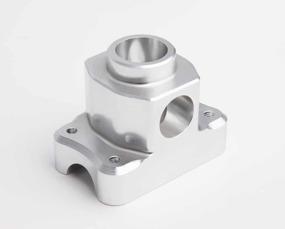 CNC Machined Boss aluminium