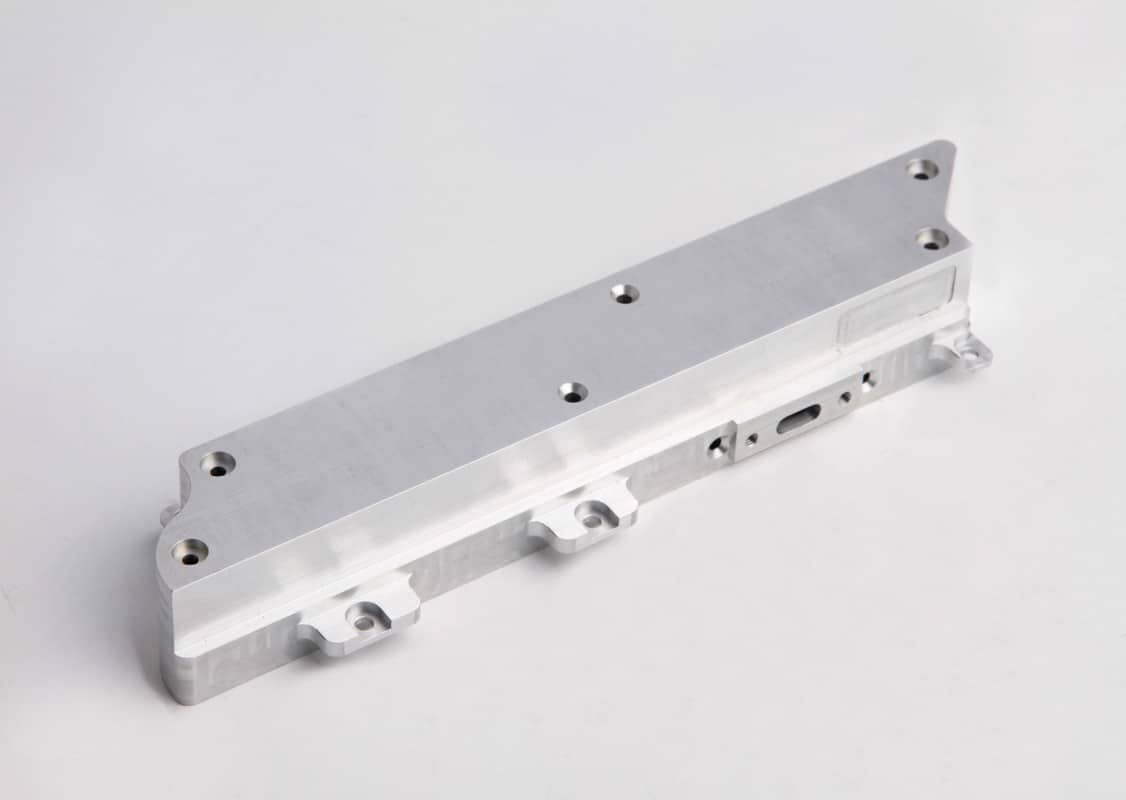 CNC milling and Machining precision aluminium part