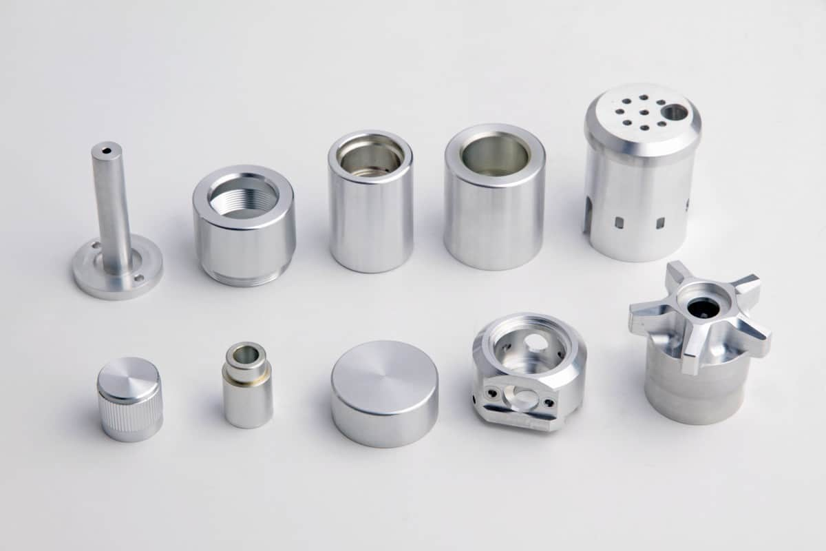 CNC Turned Parts aluminium