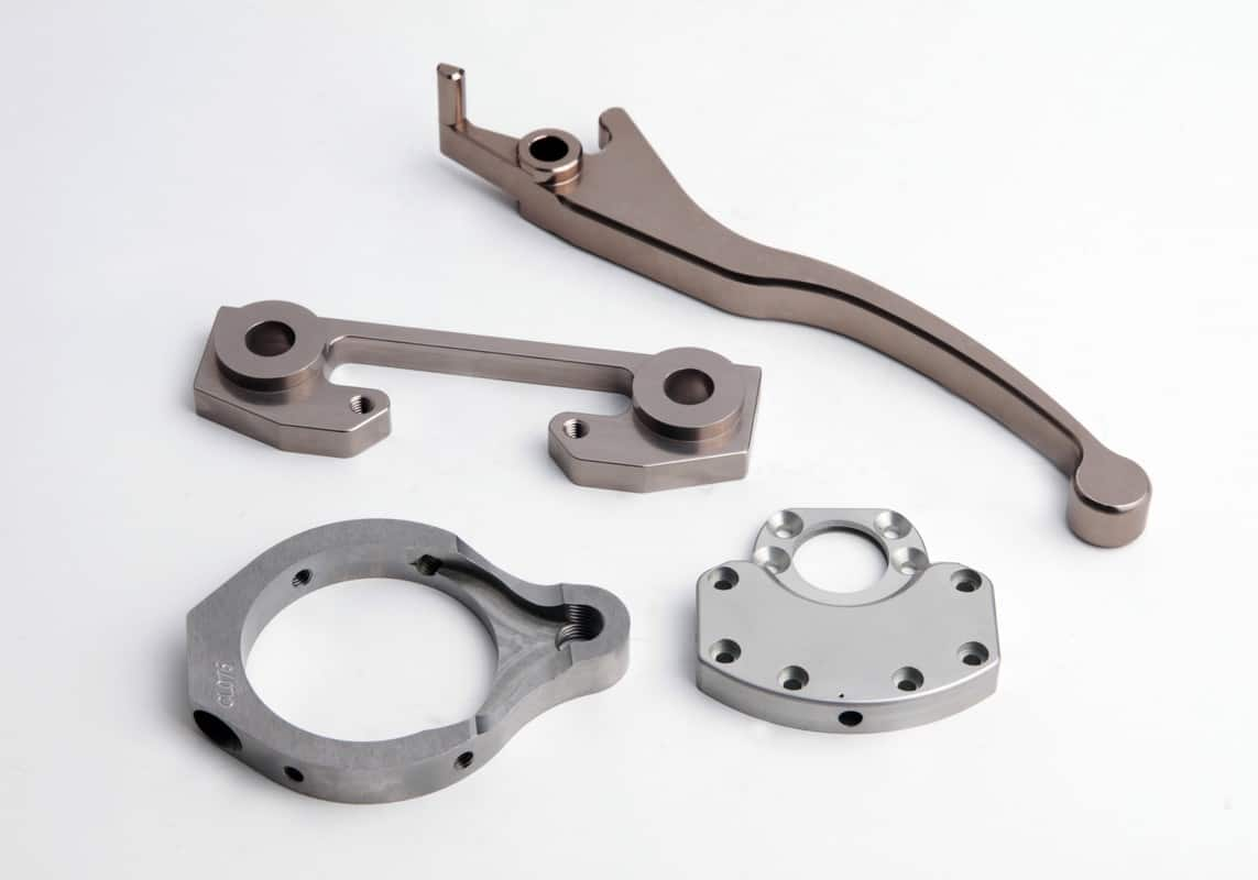 Precision CNC Machined Steel Parts