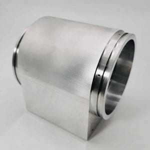 cnc milled bearing housing