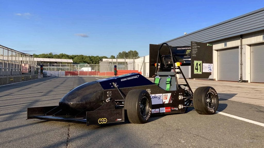 Imperial Racing Green EV3 Formula Student Vehicle