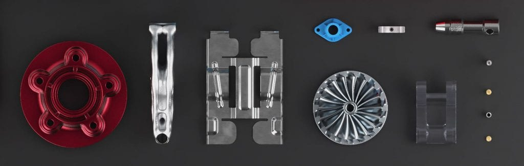 machined parts assorted