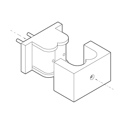 Injection moulding tool diagram